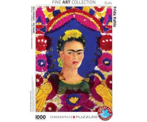 Eurographics Puzzles Frida Kahlo 1000 Teile Puzzle (6000-5425)