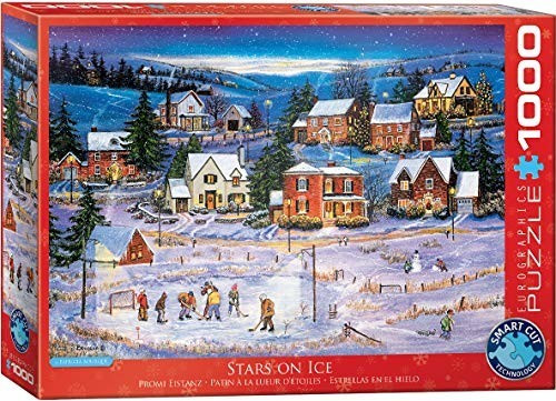 Eurographics Puzzles Stars on the Ice 1000 Teile Puzzle (6000-5440)
