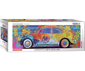 Eurographics Puzzles VW Beetle - Splash Pano 1000 Teile Puzzle (6010-5441)