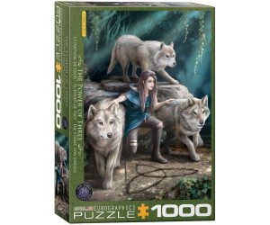 Eurographics Puzzles Anne Stokes - The Power of Three 1000 Teile Puzzle (6000-5476)