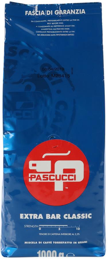 Pascucci Extra Bar Classic ganze Bohne  1kg