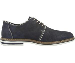 Rieker Schnürschuhe Sneaker Herren Leder Halbschuhe blau 40-46 B5235-14 Neu8