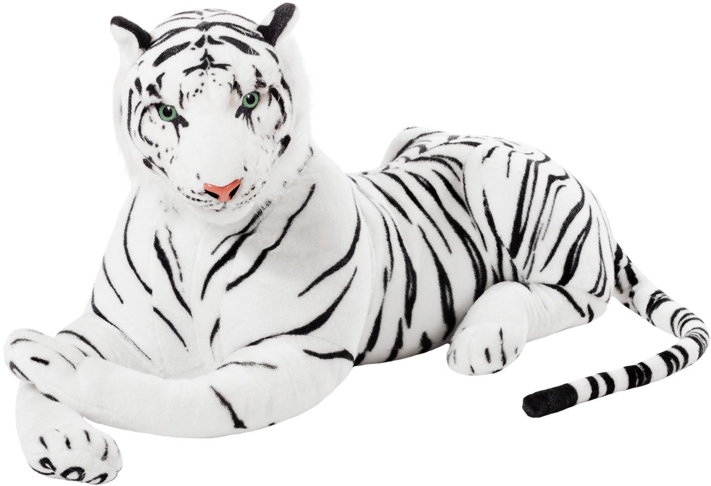 Brubaker Tiger weiß 110cm