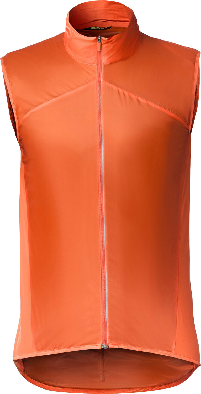 Mavic Sirocco SL Weste Men's red-orange