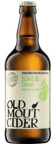 Brau Union Österreich Old Mout Cider Kiwi&Lime 0,5l