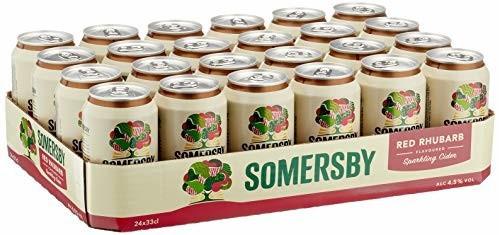 Carlsberg Somersby Red Rhubarb Cider Dosen 24x0,33l