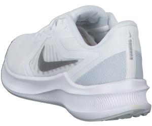 Nike Downshifter 10 Women whitepure platinummetallic