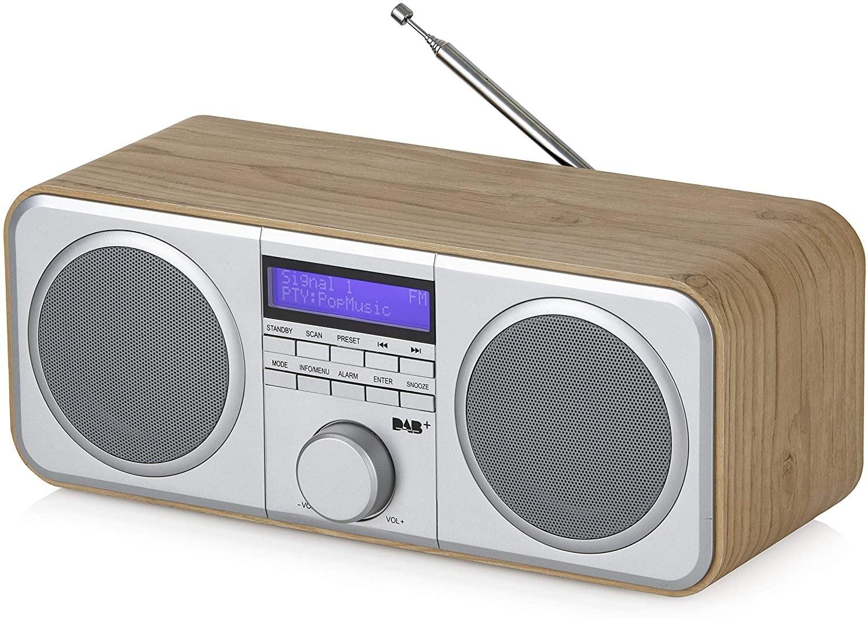 Image of Akai A61037 Stereo DAB/DAB+/FM Digital Radio with LCD display