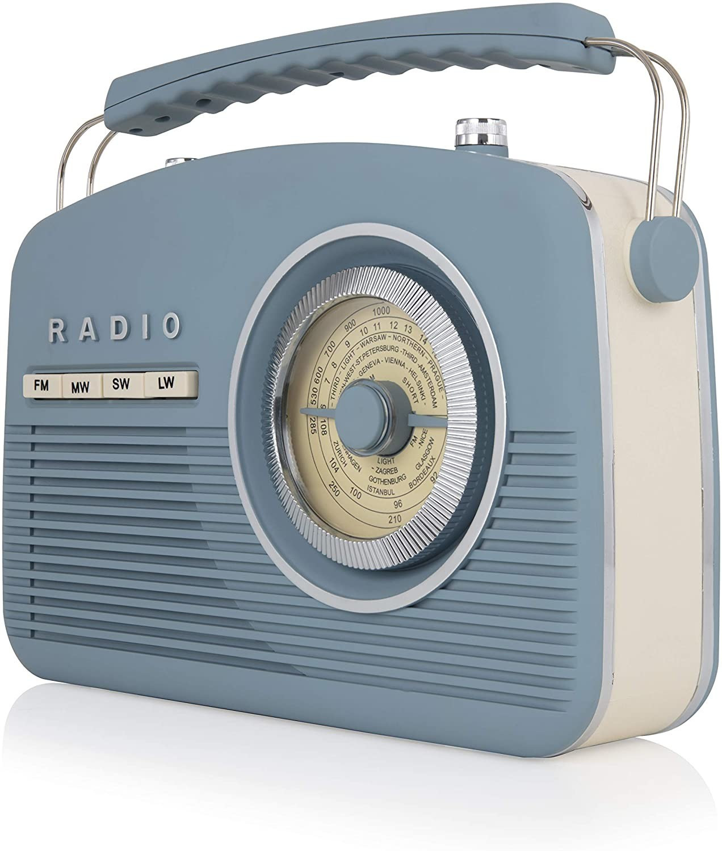 Image of Akai A60010VB Vintage Radio, 4 Band Radio
