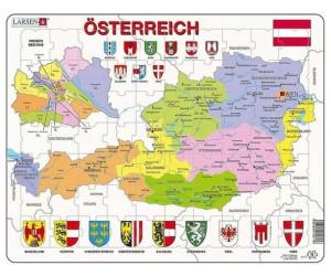 Larsen Österreich 70 Teile - K41-DE