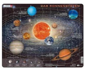 Larsen Das Sonnensystem 70 Teile - SS1-DE