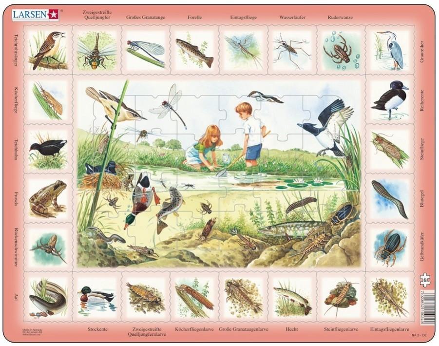 Larsen Der Teich 48 Teile - NA3-DE