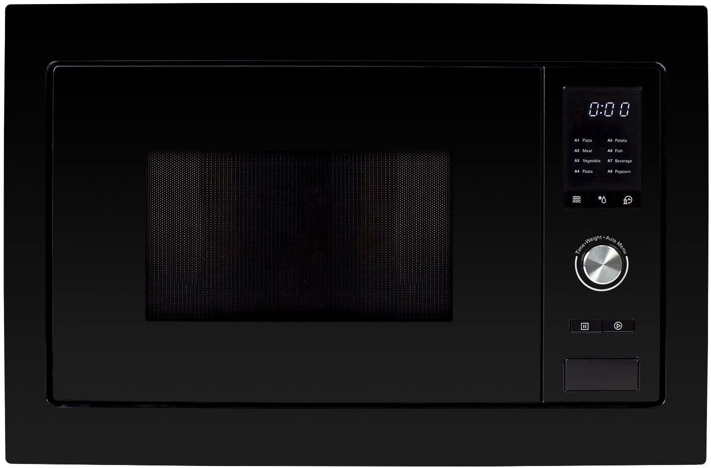 Image of ElectrIQ 25L Built-in Microwave Solo Black