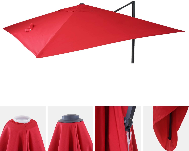 Mendler Bezug HWC-A96 300 x 400 cm rot