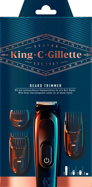 Braun King C. Gillette Barttrimmer