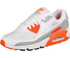 Nike Air Max 90 white/grey/orange (CT4352-103) au meilleur prix ...