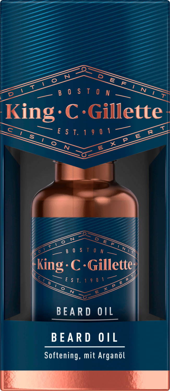 Gillette King C. Gillette Bartöl (30ml)