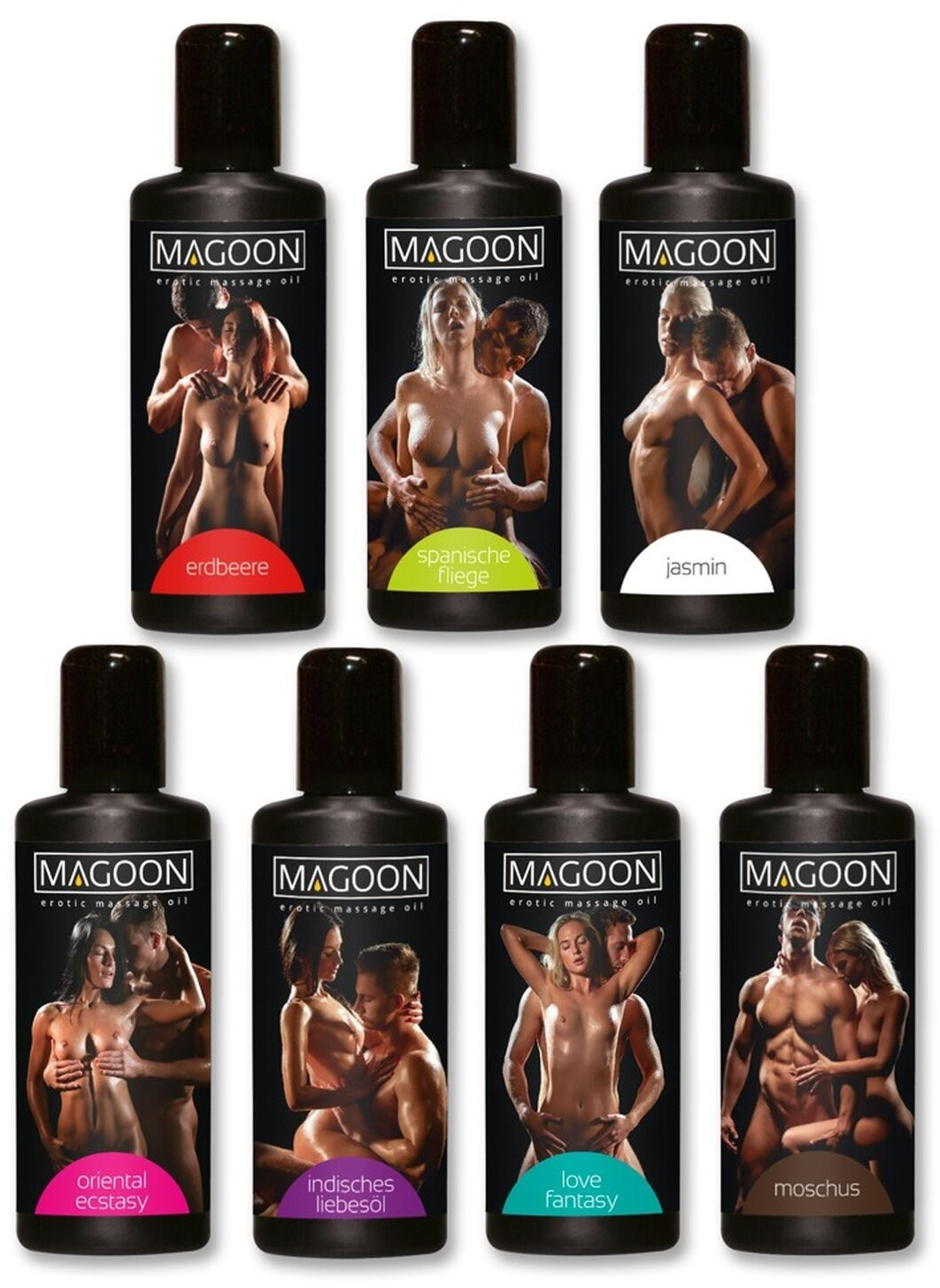 Orion Best of Magoon Massage-Öl Set (7 x 100ml)