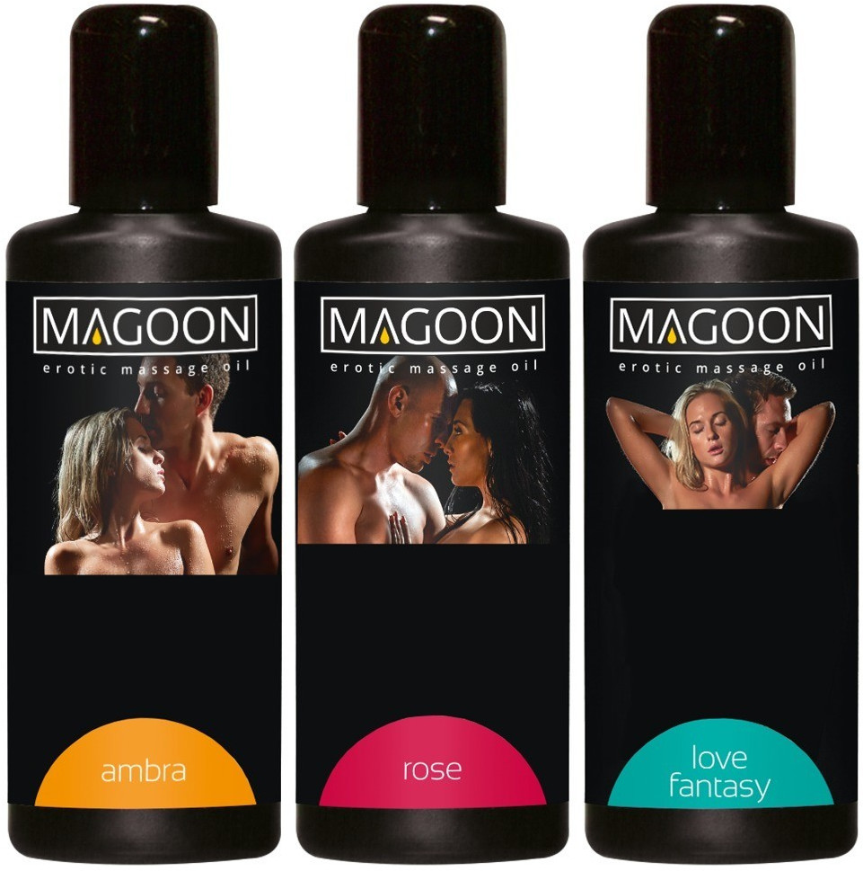 Orion Magoon Massage-Öl Set (3 x 100ml)
