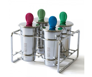 Eco Brotbox Ice Pops mit Eisformen aus Edelstahl