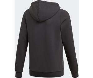 Adidas Essentials 3 Stripes Hooded Jacket Kids blackwhite