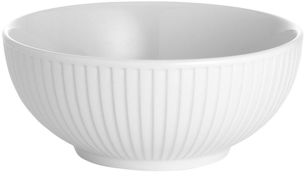 Pillivuyt Plissé Schale 60cl weiß