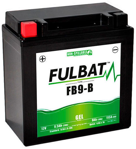 Fulbat 12V 9 Ah YB9-B
