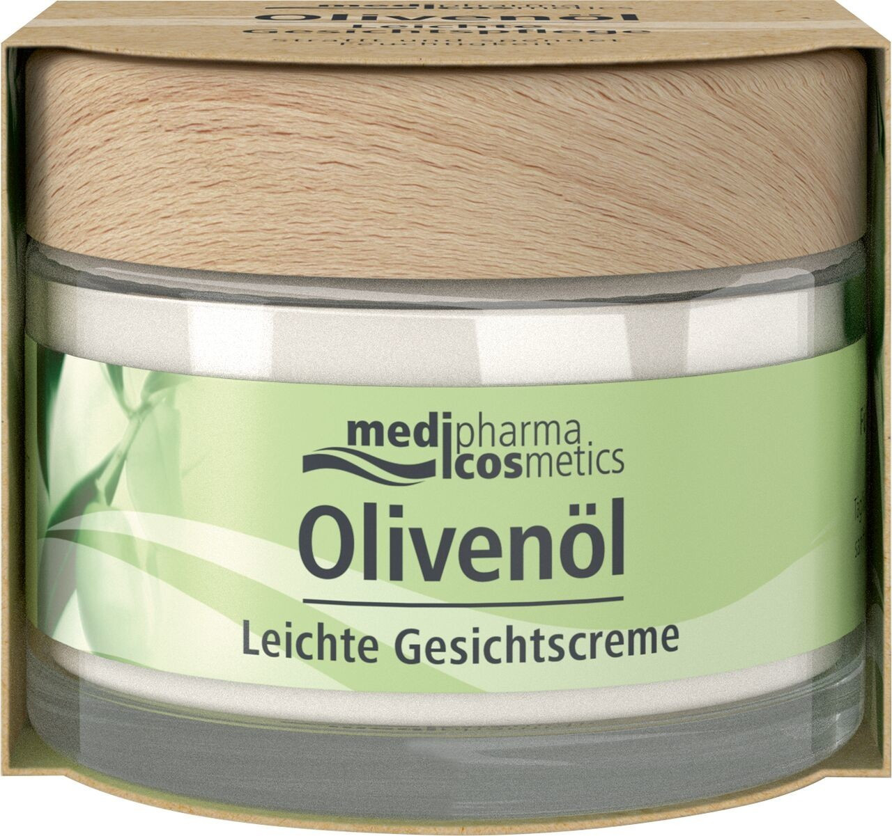 Medipharma Olivenöl Leichte Gesichtscreme (50ml)