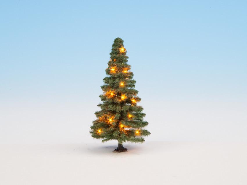 Noch Beleuchteter Weihnachtsbaum (22121)