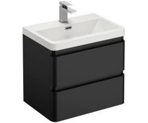 Treos Serie 920 Waschtisch mit Waschtischunterschrank schwarz (920.05.0606)
