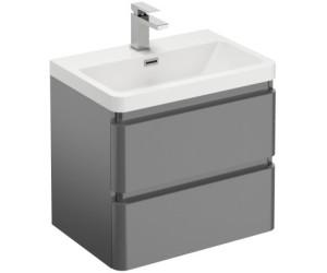 Treos Serie 920 Waschtisch mit Waschtischunterschrank graphit (920.05.0607)