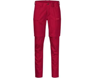Bergans Women Utne Zip Off Hose  red