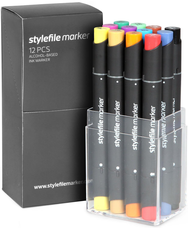 stylefile marker 12er Set Main A Startset