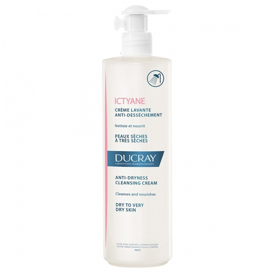 Ducray Ictyane Cleansing Shower Cream (400 ml)