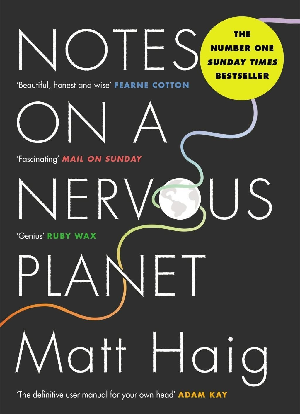 Image of Notes On A Nervous Planet (Matt Haig) (ISBN: 9781786892690)