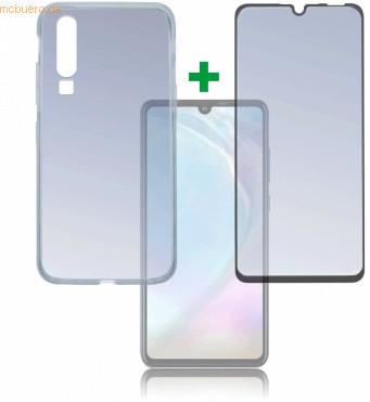 Image of 4smarts 360° Premium Protection Set -CF- Huawei P30 Lite, black