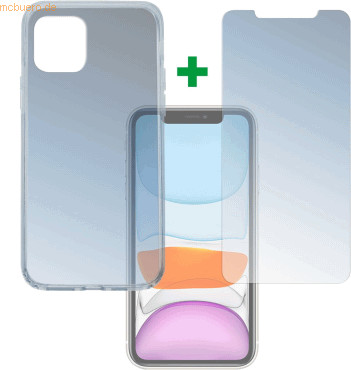 Image of 4smarts 360° Protection Set Apple iPhone 11, transparent