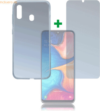 Image of 4smarts 360° Protection Set Limited Cover Samsung Galaxy A20e