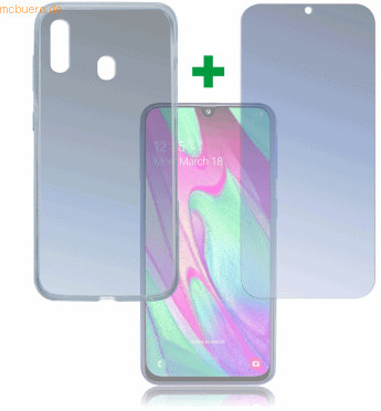 Image of 4smarts 360° Protection Set Limited Cover Samsung Galaxy A40