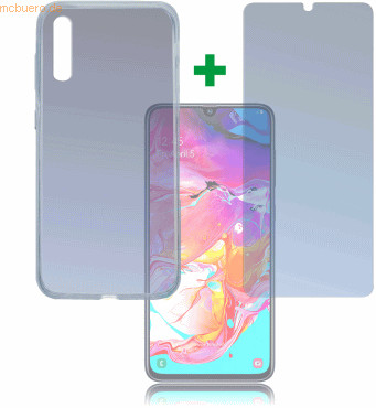 Image of 4smarts 360° Protection Set Limited Cover Samsung Galaxy A70