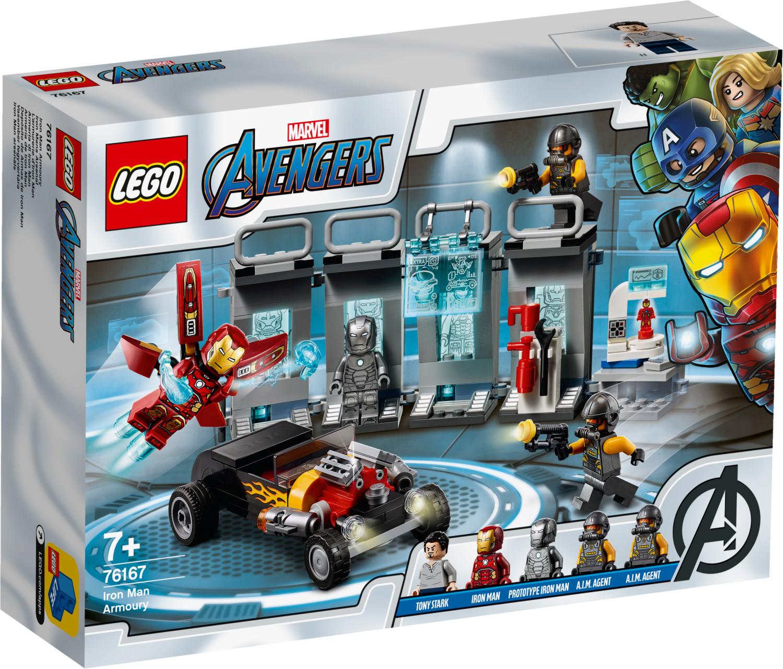 LEGO Marvel Avengers - L'armurerie d'Iron Man (76167)