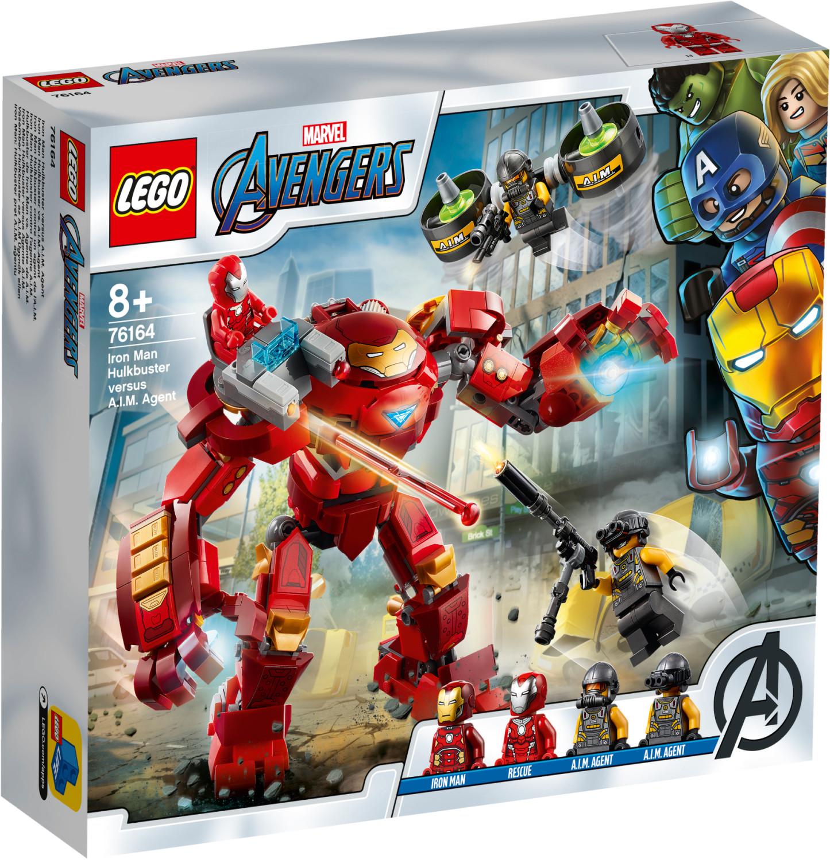 LEGO Marvel Avengers - Iron Man Hulkbuster contre un agent de l'A.I.M. (76164)