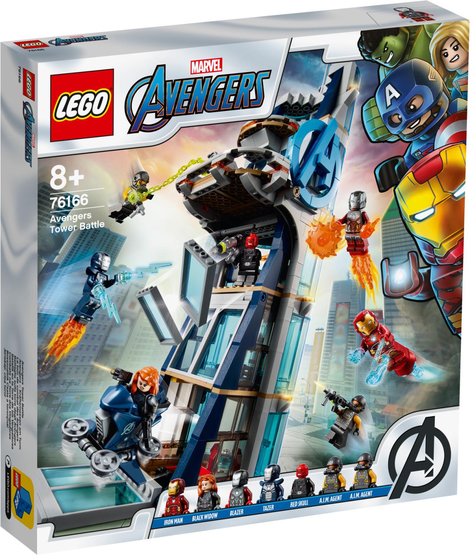 LEGO Marvel Avengers – La tour de combat des Avengers (76166)
