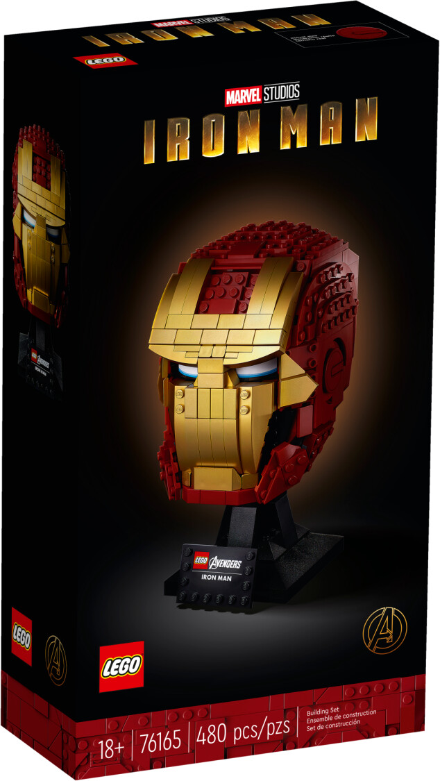 LEGO Marvel - Casque d'Iron Man (76165)