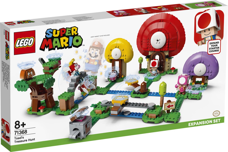 LEGO Super Mario - Ensemble d'extension La chasse au trésor de Toad (71368)
