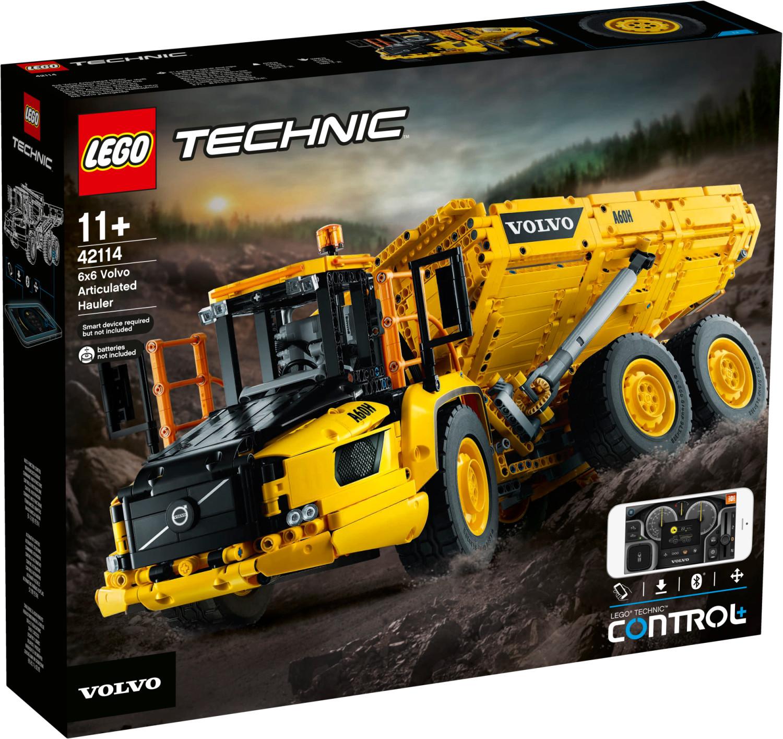LEGO Technic - Le tombereau articulé Volvo 6x6 (42114)