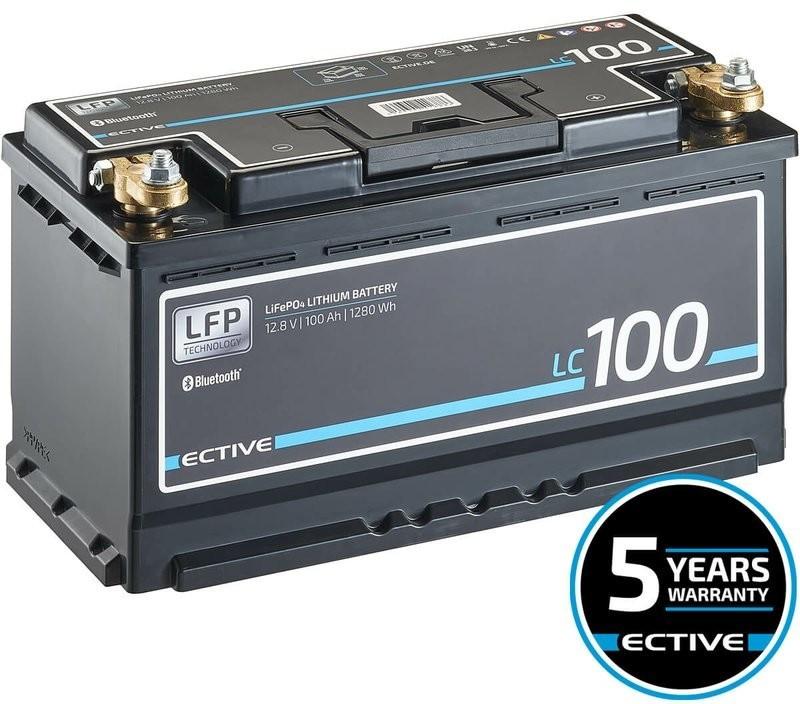 Ective Batteries LC 100 BT LFP LiFePO4 12.8V 100Ah