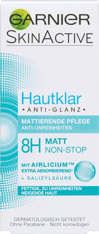 Garnier Hautklar Anti Glanz mattierende Tagescreme (50ml)