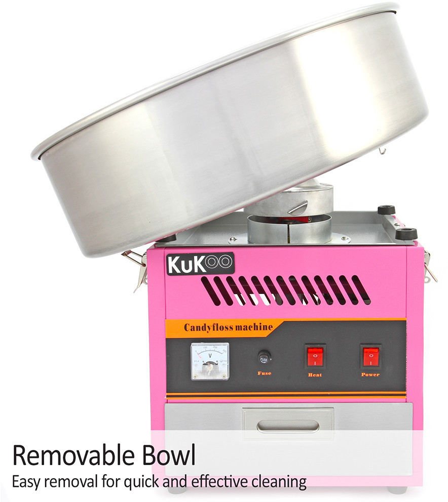Image of KuKoo Professional candy floss machine candy floss maker candy floss machine automat Candy Maker