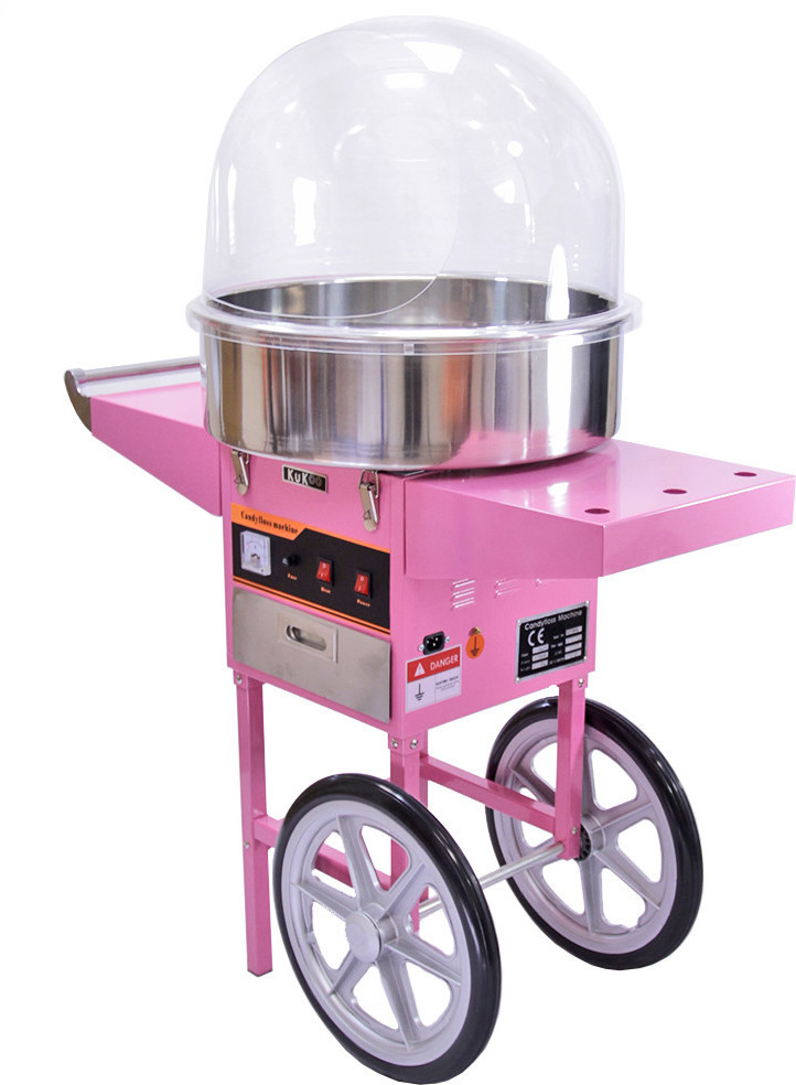 Image of KuKoo Candy Maker with wheels